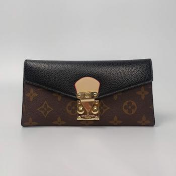 Кошелек Louis Vuitton Emilie Черный 8654 - фото_2