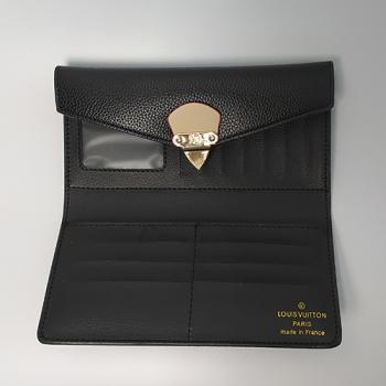 Кошелек Louis Vuitton Emilie Черный 8654 - фото_4