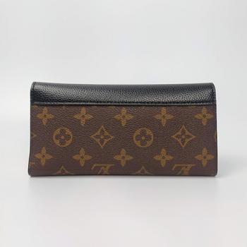 Кошелек Louis Vuitton Emilie Черный 8654 - фото_3