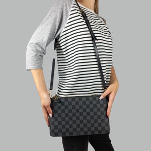 Сумка Louis Vuitton L Клетка, черная