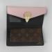 Кошелек Louis Vuitton Emilie Розовый 8654 - фото_4