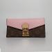 Кошелек Louis Vuitton Emilie Розовый 8654 - фото_2