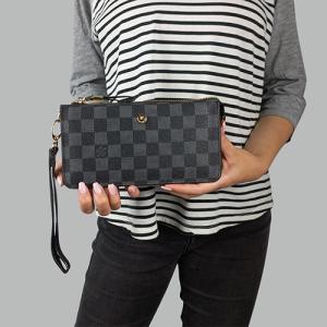 Гаманець Louis Vuitton S Клітинка, чорний