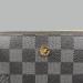 Кошелек Louis Vuitton S Клетка, чёрная - фото_4