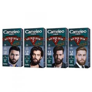 Delia Camaleo Men Мужская крем-краска для волос, бороды и усов