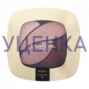 L`Oreal Paris Color Riche Quadro Тени Е6 Original Уценка
