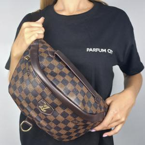 Поясная сумка Louis Vuitton Bumbag Monogram Клетка, коричневая 2196