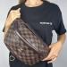 Поясная сумка Louis Vuitton Bumbag Monogram Клетка, коричневая 2196 - фото