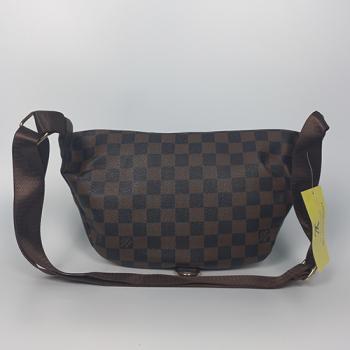 Поясная сумка Louis Vuitton Bumbag Monogram Клетка, коричневая 2196 - фото_3