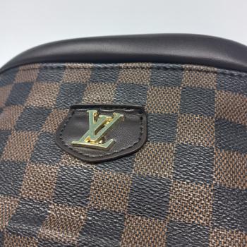Поясная сумка Louis Vuitton Bumbag Monogram Клетка, коричневая 2196 - фото_5