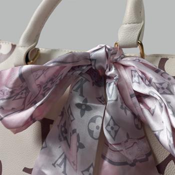 Сумка Louis Vuitton Ontherun Белая 8585 - фото_3