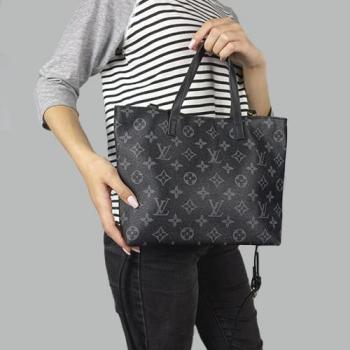 Сумка Louis Vuitton Canvas Monogram Черная - фото