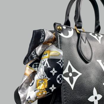 Сумка Louis Vuitton Ontherun Черная 8585 - фото_3