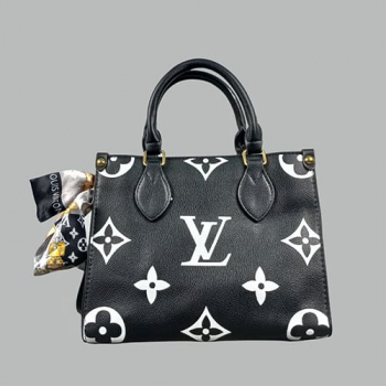 Сумка Louis Vuitton Ontherun Черная 8585 - фото_2
