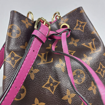Сумка-рюкзак Louis Vuitton Neonoe Mini Фуксия 7082 - фото_3