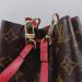 Сумка-рюкзак Louis Vuitton Neonoe Mini Красная 7082 - фото_3