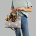 Сумка Louis Vuitton Ontherun Серая 8585 - фото