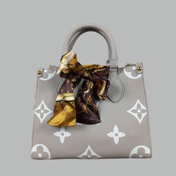 Сумка Louis Vuitton Ontherun Серая 8585 - фото_2