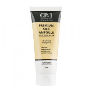 Esthetic House CP-1 Premium Silk Ampoule  Сиворотка для волосся з протеїнами шовку