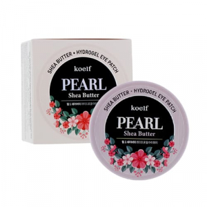Petitfee&Koelf Pearl & Shea Butter Патчі для очей із перлинами та олією ши