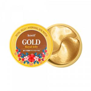 Petitfee&Koelf Gold & Royal Jelly Eye Patch Патчі для очей з золотом і маточним молочком 60 шт