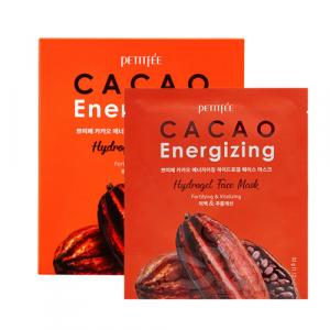 Petitfee Cacao Energizing Face Mask Гідрогелева маска для обличчя