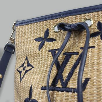 Сумка Louis Vuitton Sea Dark Blue Синяя 7166 - фото_3