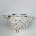 Поясная сумка Louis Vuitton Bumbag Белая 7041  - фото