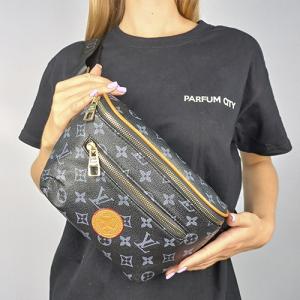 Поясная сумка Louis Vuitton Outdoor Черная 7693