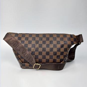 Поясная сумка Louis Vuitton Outdoor Клетка, коричневая 7693 - фото_3