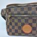 Поясная сумка Louis Vuitton Outdoor Клетка, коричневая 7693 - фото_4