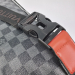 Поясная сумка Louis Vuitton 1854 Клетка, черная - фото_4