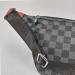Поясная сумка Louis Vuitton 1854 Клетка, черная - фото_3
