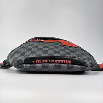 Поясная сумка Louis Vuitton 1854 Клетка, черная - фото_2