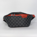 Поясная сумка Louis Vuitton 1854 Клетка, черная - фото