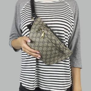 Поясная сумка Gucci Bubag World Tour Gray 9041