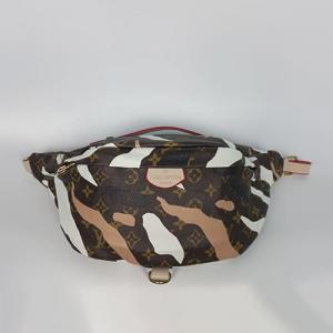 Поясна сумка Louis Vuitton Bumbag Акварель біла 7041