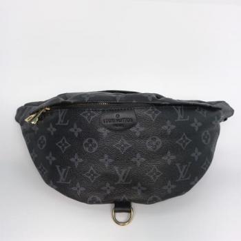Поясная сумка Louis Vuitton Bumbag Черная 7041 - фото