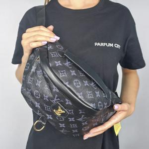 Поясная сумка Louis Vuitton Bumbag Monogram Черная 2196