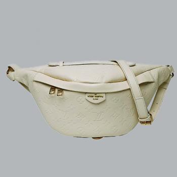 Поясная сумка  Louis Vuitton Discovery Бежевая 7093 - фото