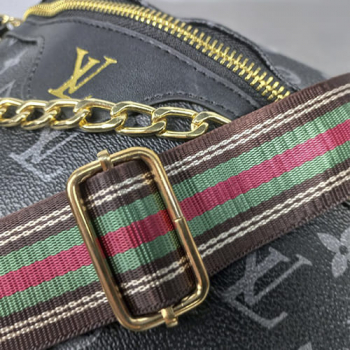 Поясная сумка Louis Vuitton Favorite Monogram Black - фото_3
