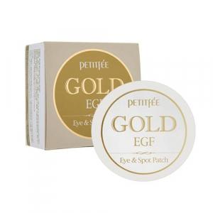 Petitfee&Koelf Gold&EGF Патчи для глаз с золотом