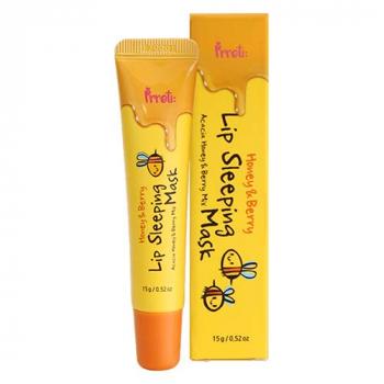 Prreti Honey&Berry Lip Sleeping Mask Ночная маска для губ в тюбике - фото