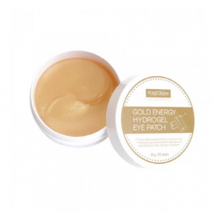 PUREDERM Gold Energy Hydrogel Eye Patch гидрогелевые патчи