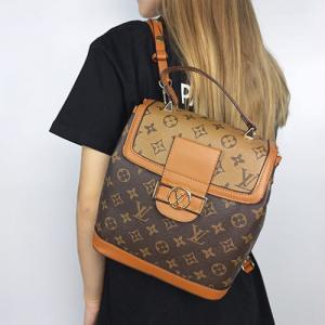 Рюкзак Louis Vuitton Dauphine Світло-коричневий 9901
