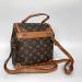 Рюкзак Louis Vuitton Dauphine LV Коричневый 9901 - фото_3