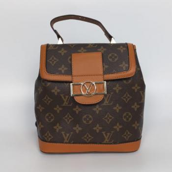 Рюкзак Louis Vuitton Dauphine LV Коричневый 9901 - фото_2