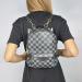 Рюкзак Louis Vuitton Palm Springs Mini Клетка, чёрный - фото