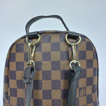 Рюкзак Louis Vuitton Palm Springs Mini Клетка  - фото_4