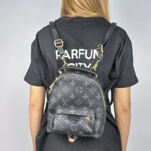 Рюкзак Louis Vuitton Palm Springs Mini Dust Bag, Чорний